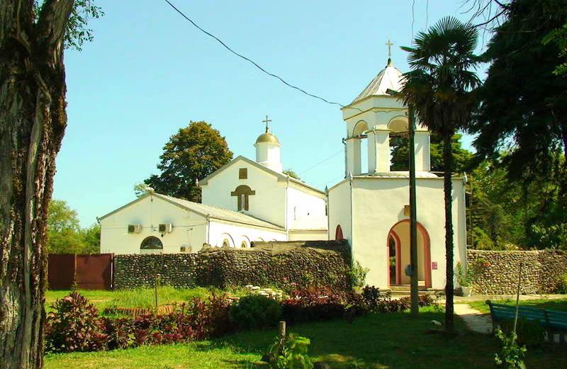 Храм Святого Георгия Победоносца в селе Илор